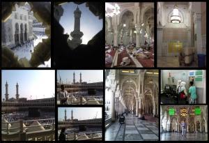foto hasil keliling lantai dua Masjidil haram