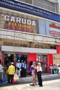 di depan GARUDA restaurant