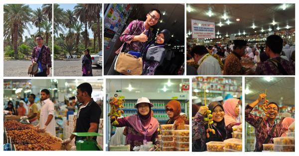 foto-foto bareng kurma