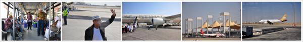 sebelum naik pesawat di Bandara King Abdul Aziz Jeddah