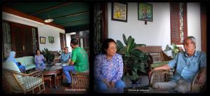 ngobrol hangat dengan bapak/ibu Tatang