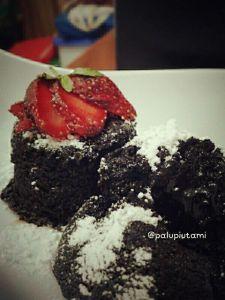 volcano chocolate